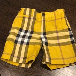 Burberry Bottoms - Burberry boys 5 shorts